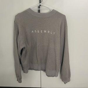 Assembly label jumper
